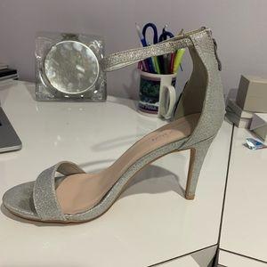 Silver elegant shoes
